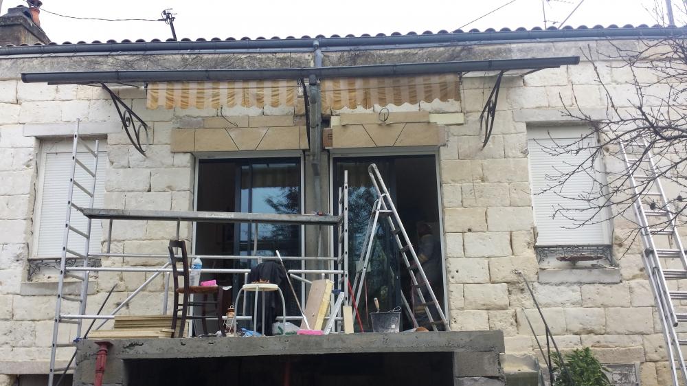 Ravalement et enduit de facade bordeaux st andre de cubzac for Combien coute un ravalement de facade immeuble